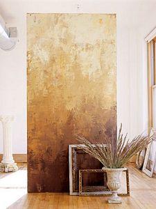 Tecnicas decorativas en paredes buscar con google - Paredes pintadas originales ...