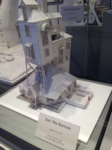 White-Card Model of The Burrows<<I would buy this and then it would crumble in my hands