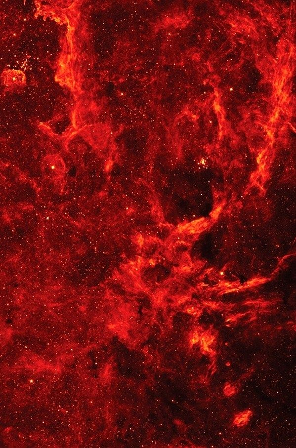 Crookedindifference Red Sky At The Center Of This Star Nest Is A Supermassive Black Hole Wh Dark Red Wallpaper Red And Black Wallpaper Iphone Red Wallpaper