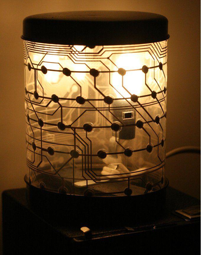 lampadaire geek