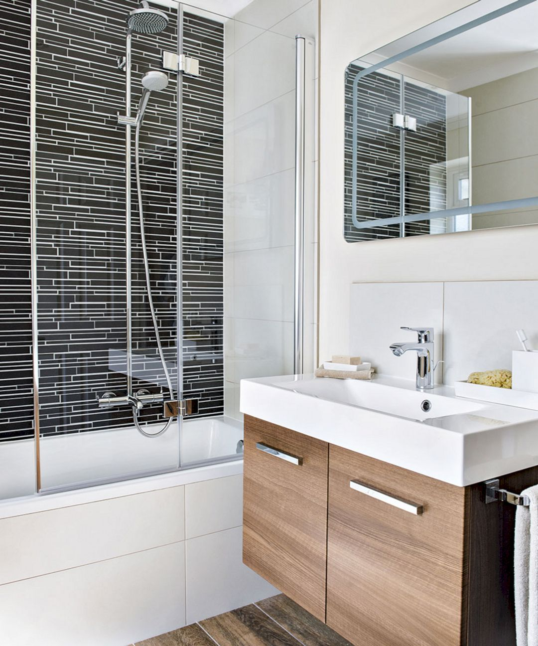 Awesome 20 Best And Beautiful Small Bathroom Shower Ideas Https Usdecorating Com 5443 20 Best And B Bathroom Interior Design Bathroom Design Modern Bathroom