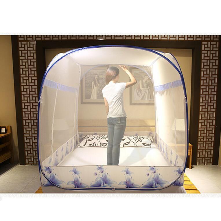 Large Size Mosquito Bed Netting 3 DoorQuadrate Mosquito Net Blue PurplePrincess Mosquito  sc 1 st  Pinterest & Large Size Mosquito Bed Netting 3 DoorQuadrate Mosquito Net Blue ...