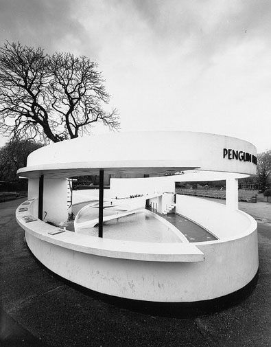 Regents Park Zoo, Penguin Pool by Berthold Lubetkin 1934