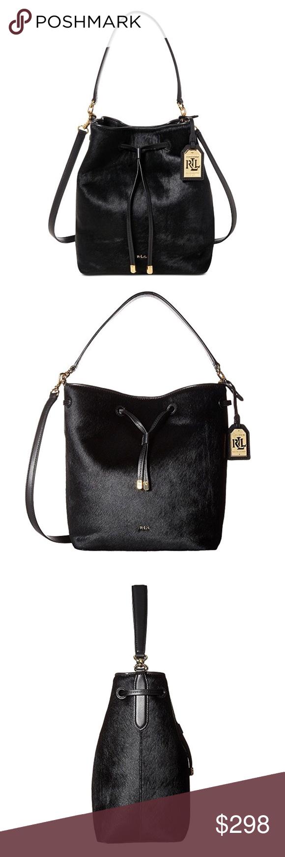 316174f3fe0 Spotted while shopping on Poshmark  LAUREN Ralph Lauren Debby Drawstring Shoulder  Bag!  poshmark  fashion  shopping  style  Lauren Ralph Lauren  Handbags