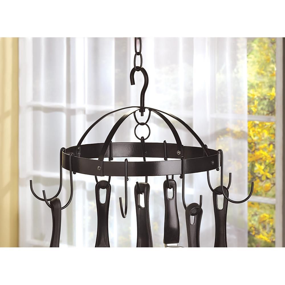 Mini round pot hanger organize your kitchen in america and eu