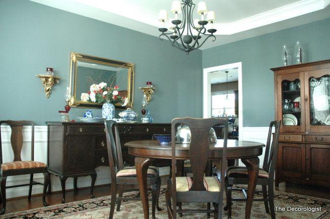 El poder de la pintura un sal n antiguo reformado solo con un poco de pintura interiors - Salones antiguos ...
