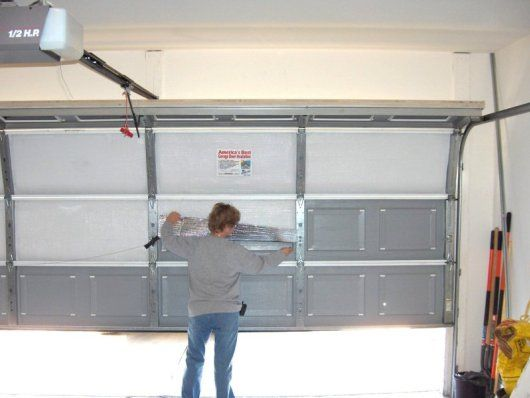Overhead Garage Door Insulation Kit Garage Door Insulation Blanket Kit For  Residential Needs