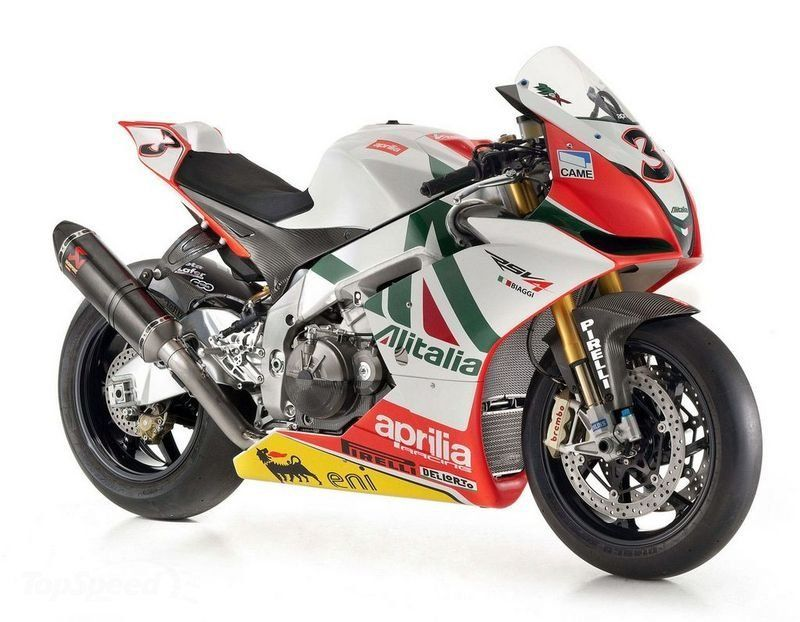 Aprilia Unveils RSV4 Max Biaggi Replica motorcycle News @ Top Speed ...
