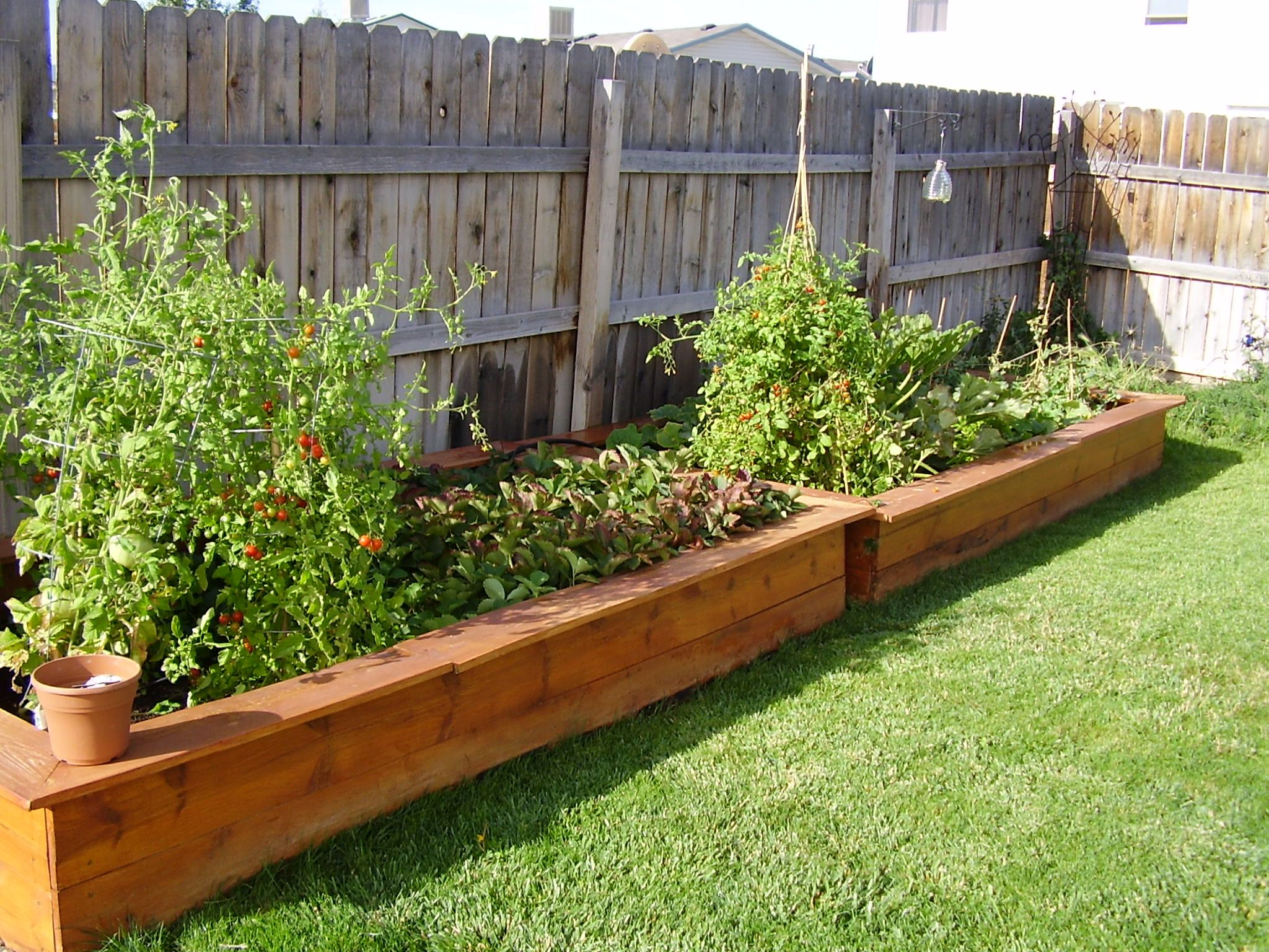 Best Garden Box Design Ideas Images House Interior  Home Vegetable Simple