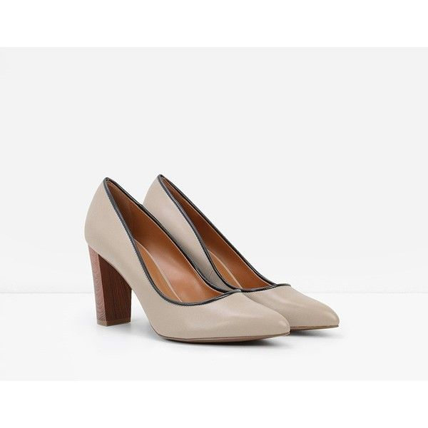 CHARLES & KEITH Basic Pumps (78 CAD) ❤ liked on Polyvore featuring shoes,