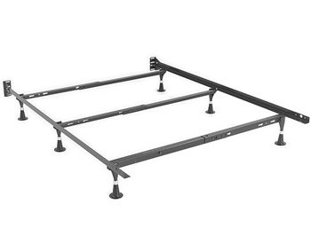 Heavy Duty 6Leg Bed Frame Fits Twin Twin XL and Full
