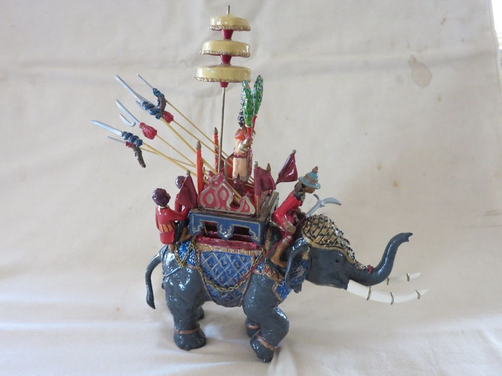 Marlborough Chinese War Elephant in Toys, Hobbies, Toy Soldiers