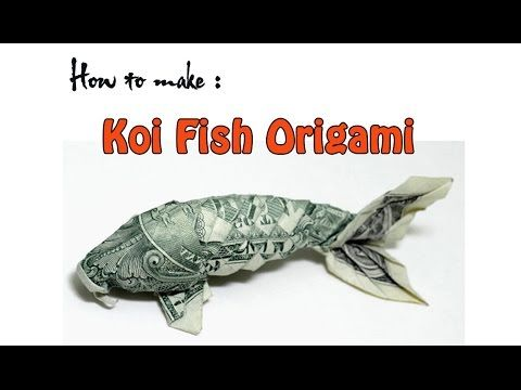 Origami Koi Fish With 400 Scales Timelapse (Robert Lang) - YouTube | 360x480
