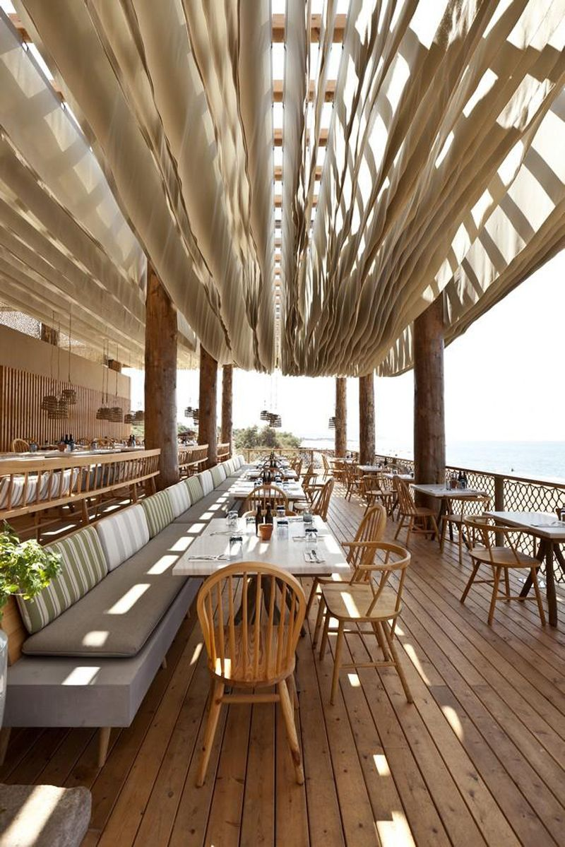 La Cucina Pylos Menu The Bouni Beach Bar Designed By K Studio Summer Houses Hotels