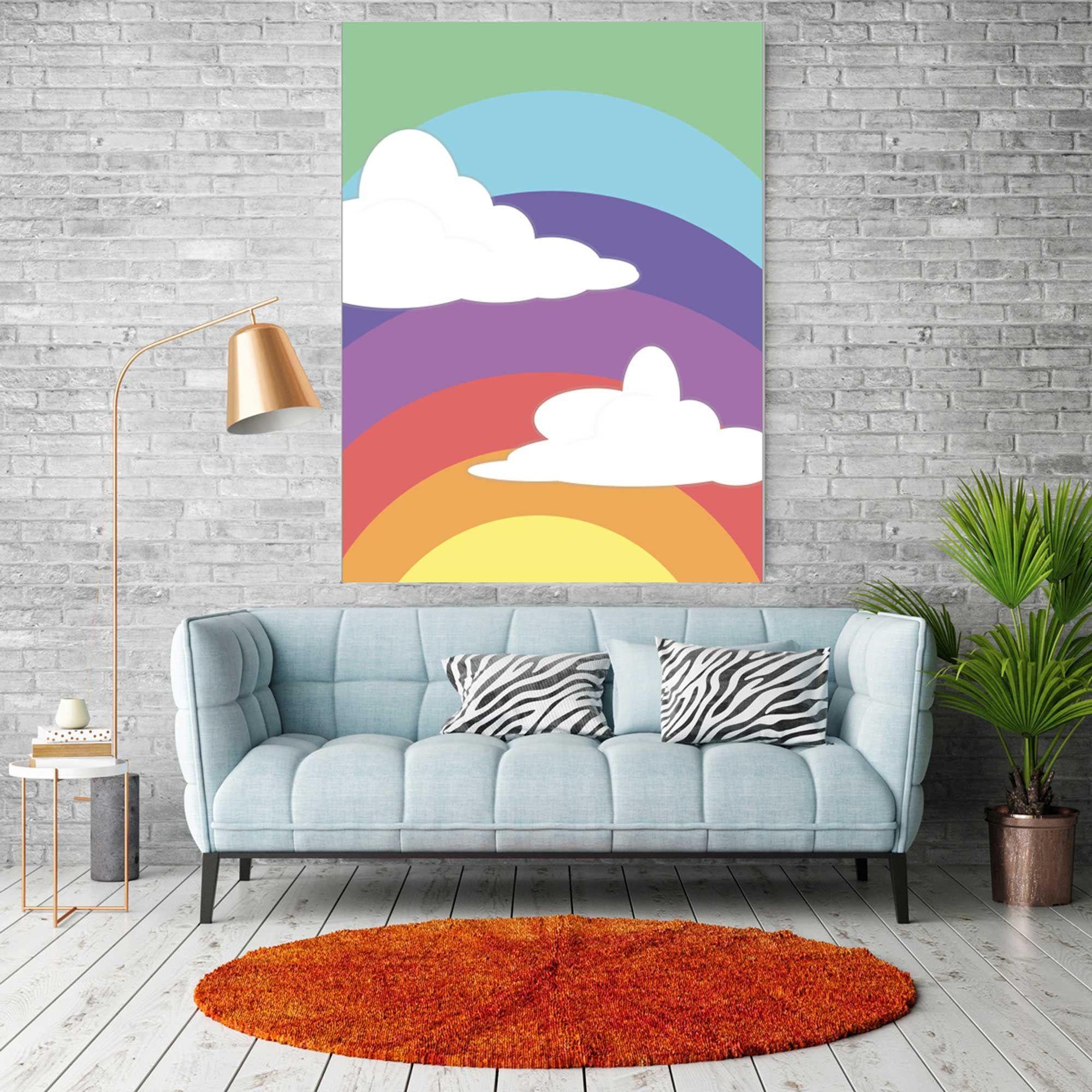 Rainbow Print Princess Print Bob S Burger Wall Poster Etsy In 2021 Rainbow Print Inspirational Posters Poster Wall
