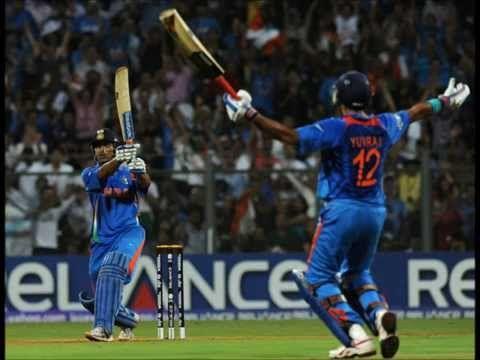 World Cup Final 2011 Winning Shot Ms Dhoni Wallpapers Cricket World Cup Dhoni Wallpapers