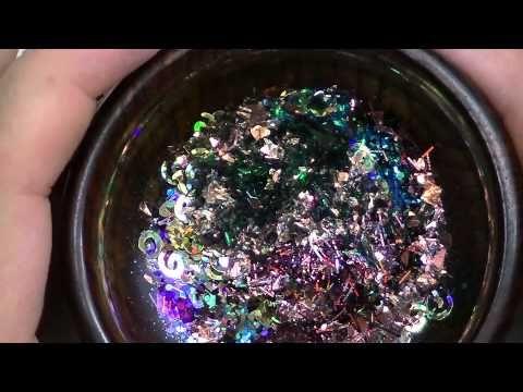como hacer glitter casero facil pintura de purpurina para pintura facil youtube