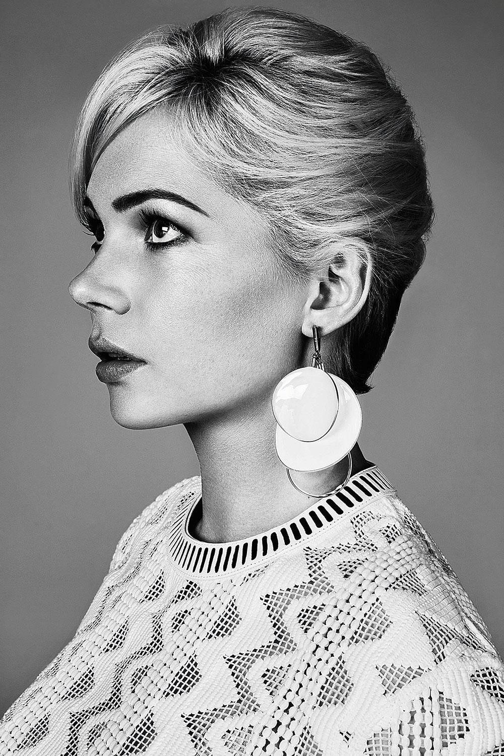 Michelle Williams in Louis Vuitton for Madame Figaro France 30th January 2015