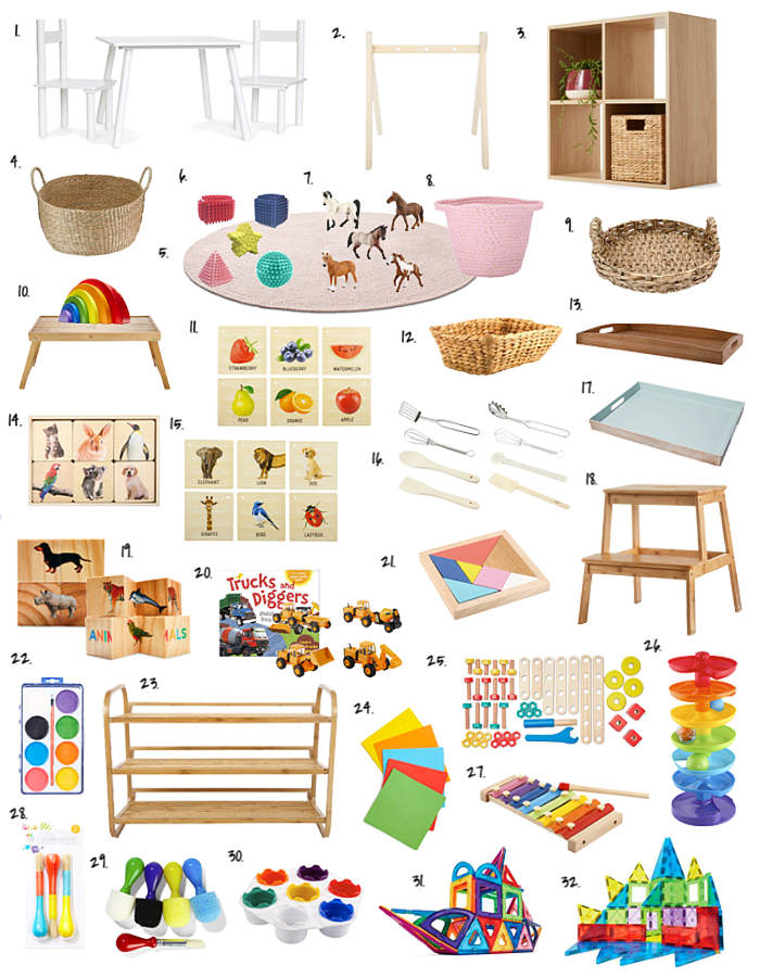 Montessori Ideas At Kmart Australia At How We Montessori Arts And Crafts For Kids Art And Craft Materials Easy Crafts