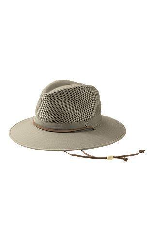 455c09edec4 Crushable Ventilated Canvas Hat  Sun Protective Clothing - Coolibar