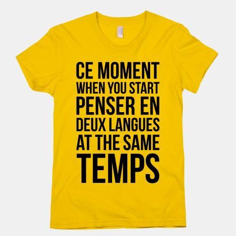 oder 三个 langues. That's fun.
