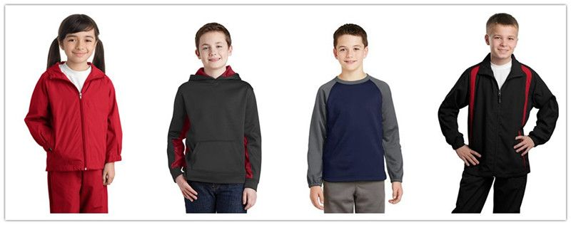 Sport Tek Fall Apparel for Youth from NYFifth