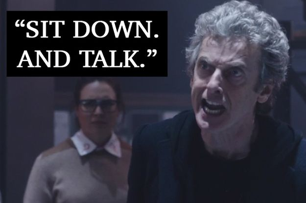 """BuzzFeed: Peter Capaldi's speech during """"The Zygon Inversion"""" has got a lot of people talking. Spoilers in this post, obviously. #doctorwho"""