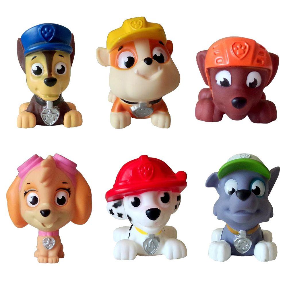 $12.89 (Buy here: http://appdeal.ru/3v1t ) 6pcs/lot  Puppy Patrol Patrulla…
