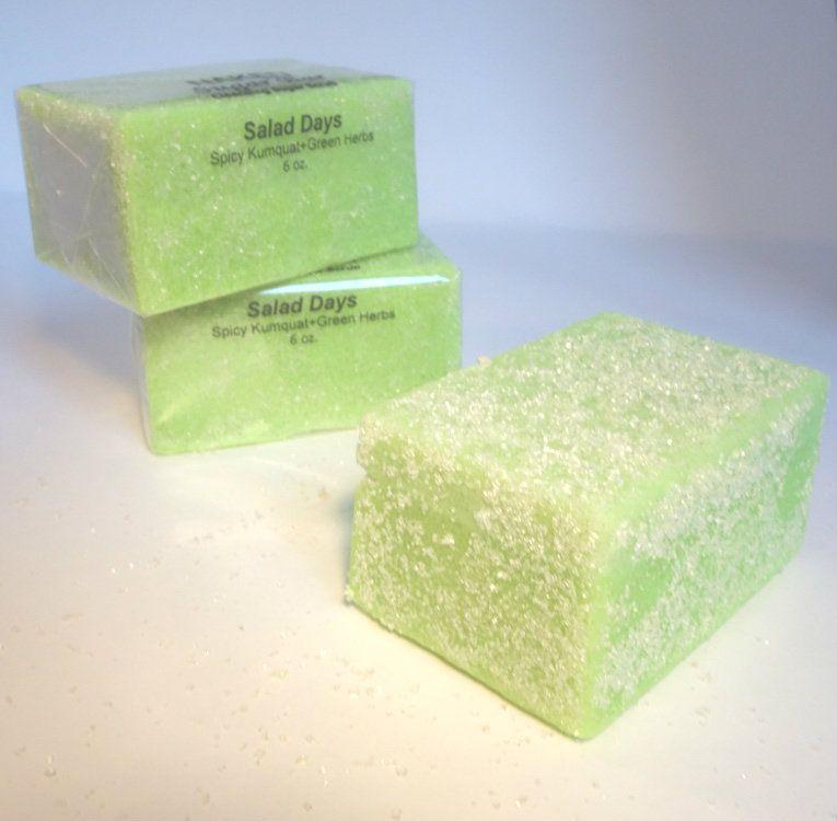 NAKED body bath - Salad Days Sugar Bar, $10.00 (http://nakedbodyandbath.com/salad-days-sugar-bar/)
