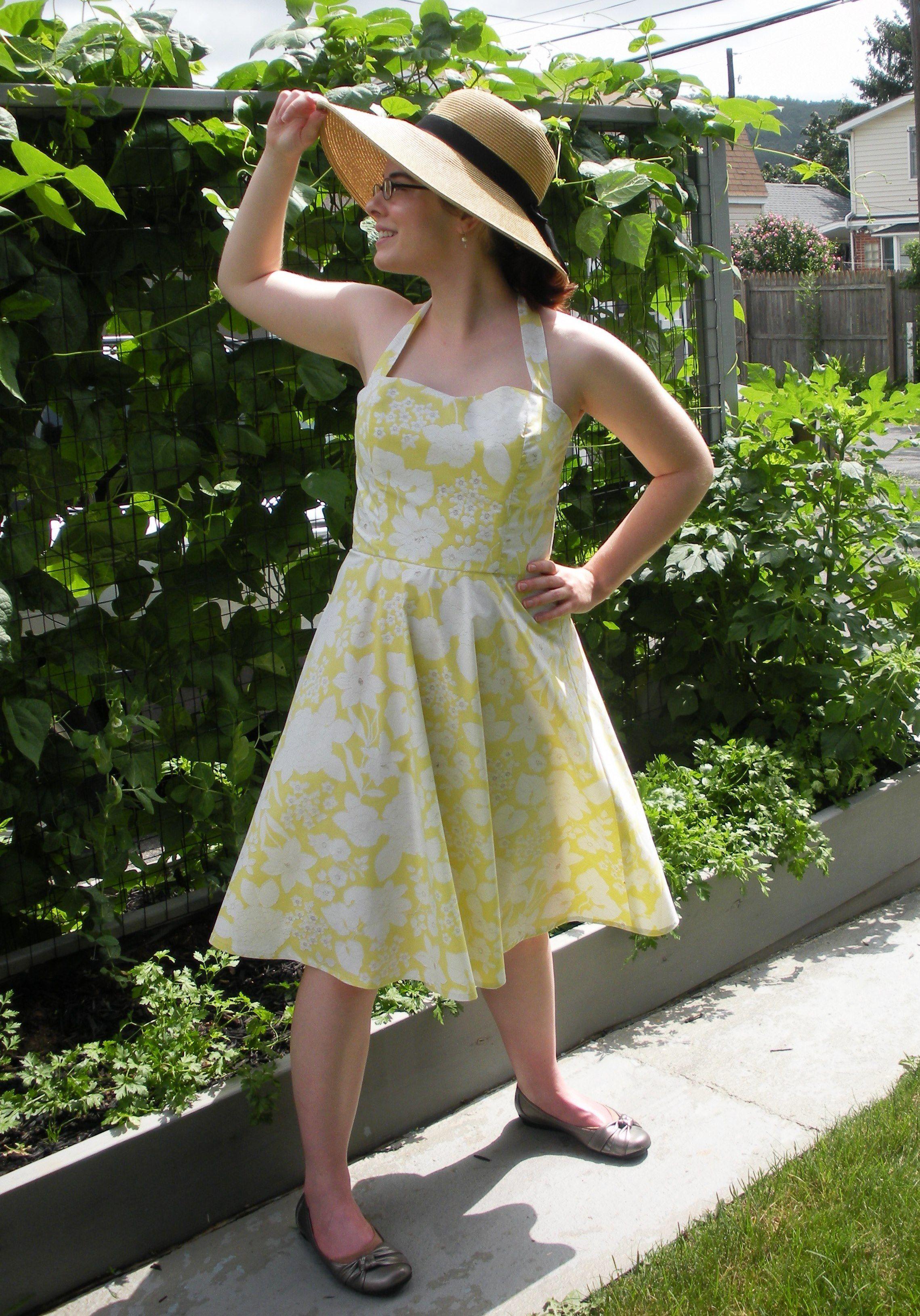 Sunny Summer Sundress