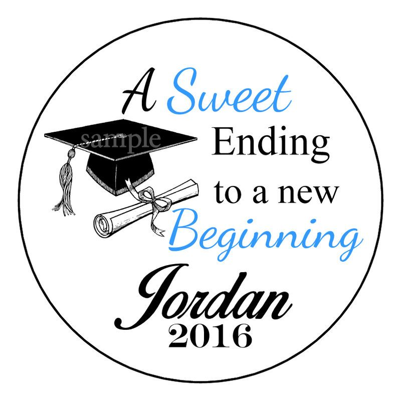 Details about Graduation Party Favor Sweet Ending