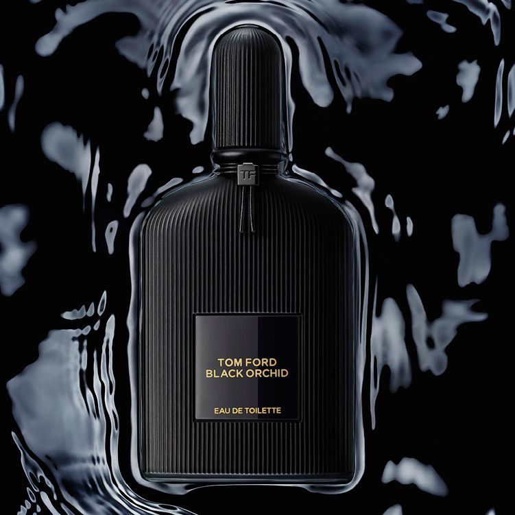 Introducing Black Orchid Eau de Toilette. Experience the seductive breakthrough of rich, dark accords with an alluring potion of black orchids and spice.