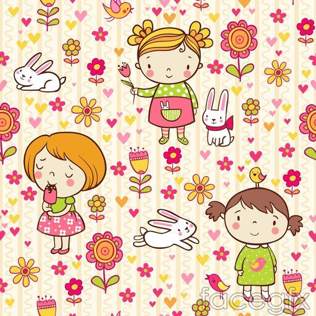 Cartoon Festival background vector