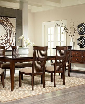 Another Nice Dining Room Table And Chairs Available At Macys Furniture SaleFurniture