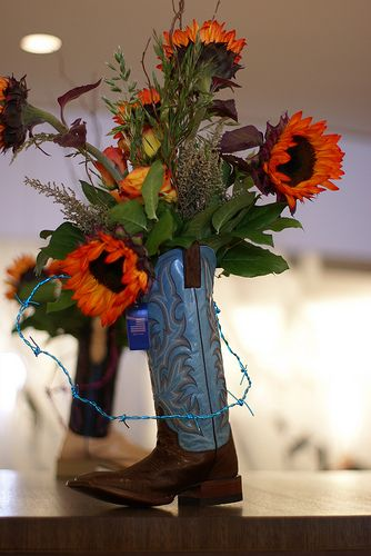 For My Nieces Western Going Away Party These Would Be So Pretty On The Tables Just Because It