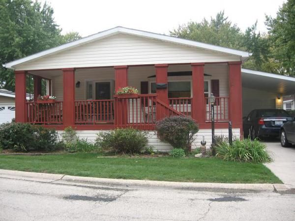 Love This Porch Highland Mobile Home For Sale In Elgin Il On Mhvillage Com Beautiful