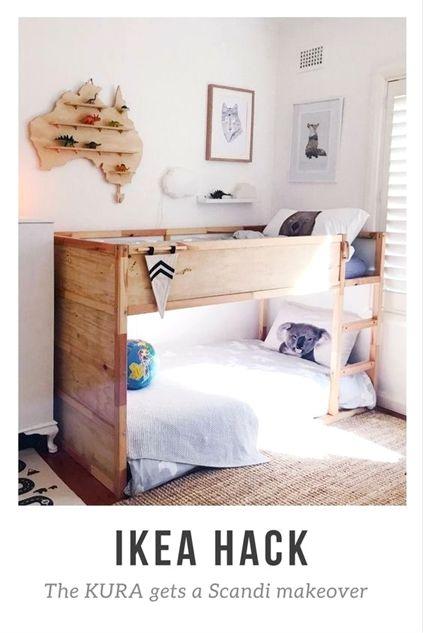 IKEA KURA hack with plywood images