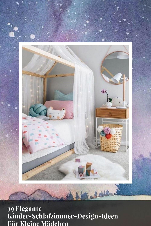 39 Elegante KinderSchlafzimmerDesignIdeen Für Kleine