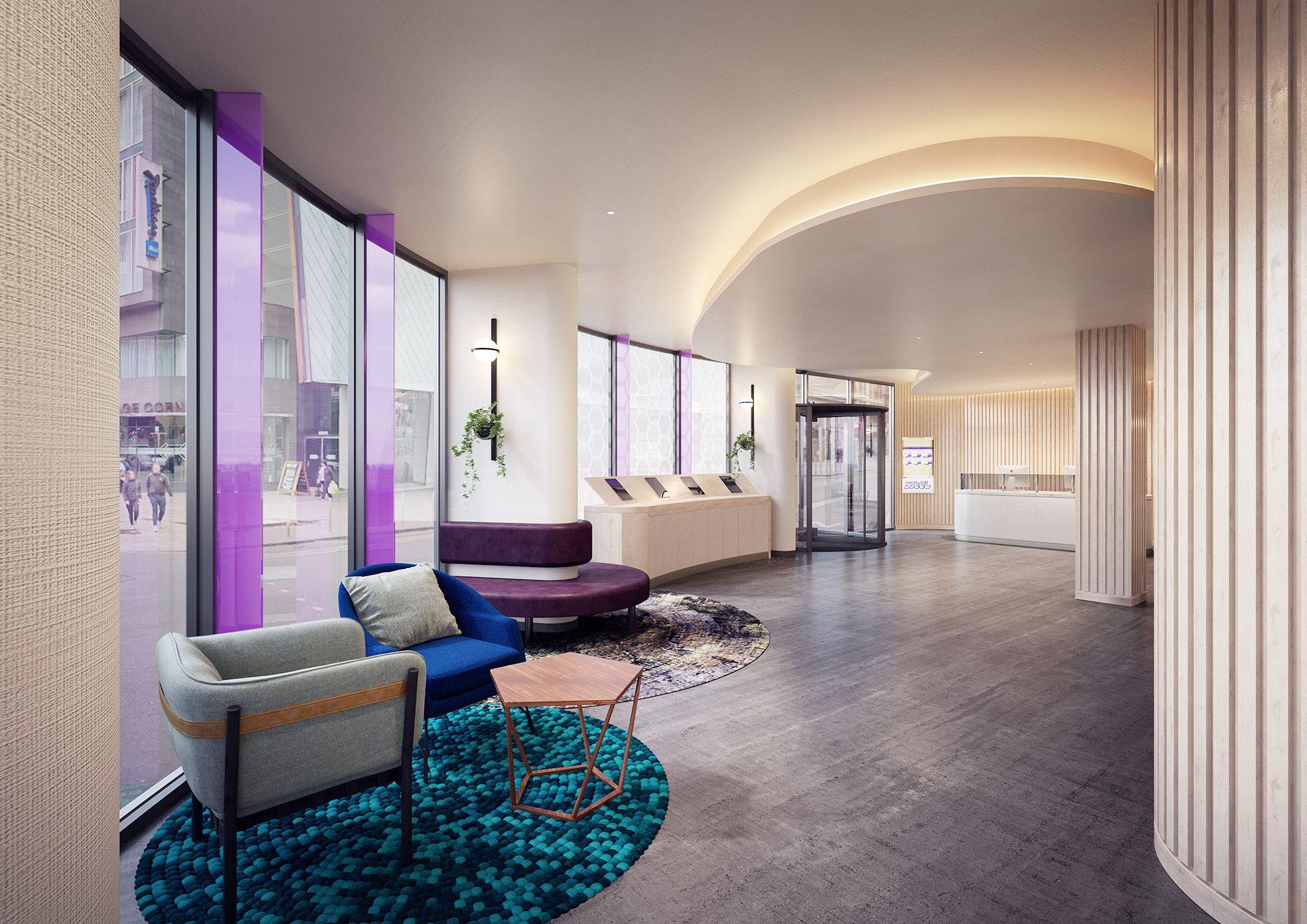 Yotel Glasgow Hotels Room Glasgow Central Station Home