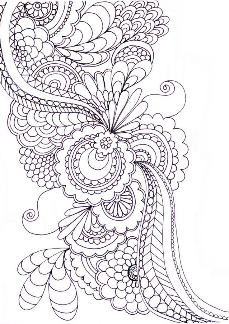 Pin de Genbunce en Doodles | Pinterest | Mandalas, Aula de arte y Pintar