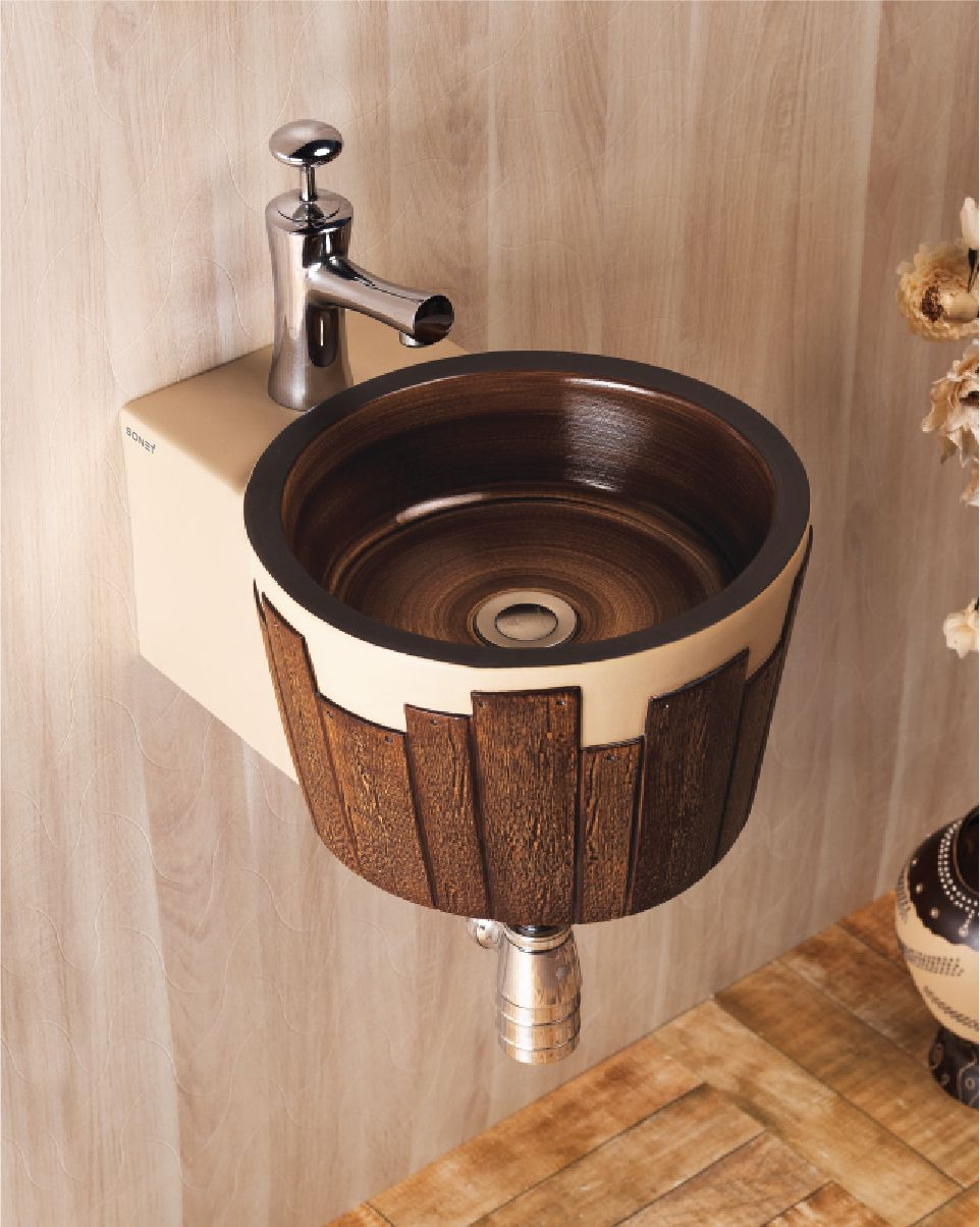 This is Balti Wall Hung Wash Basin from Sonet India. For more ...