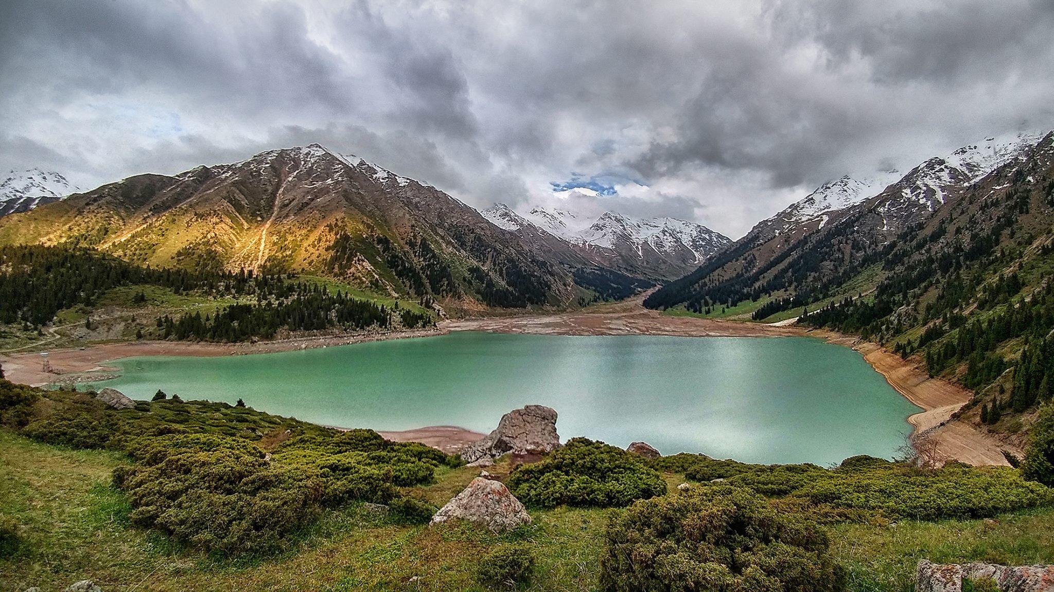 Big Almaty Lake Almaty Kazakhstan Photo By Maxim Zolotukhin Kasachstan