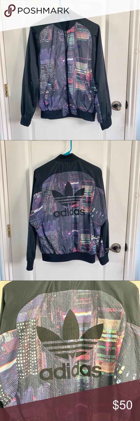 adidas Originals | Tokyo Lights Bomber Jacket ✨Unique piece