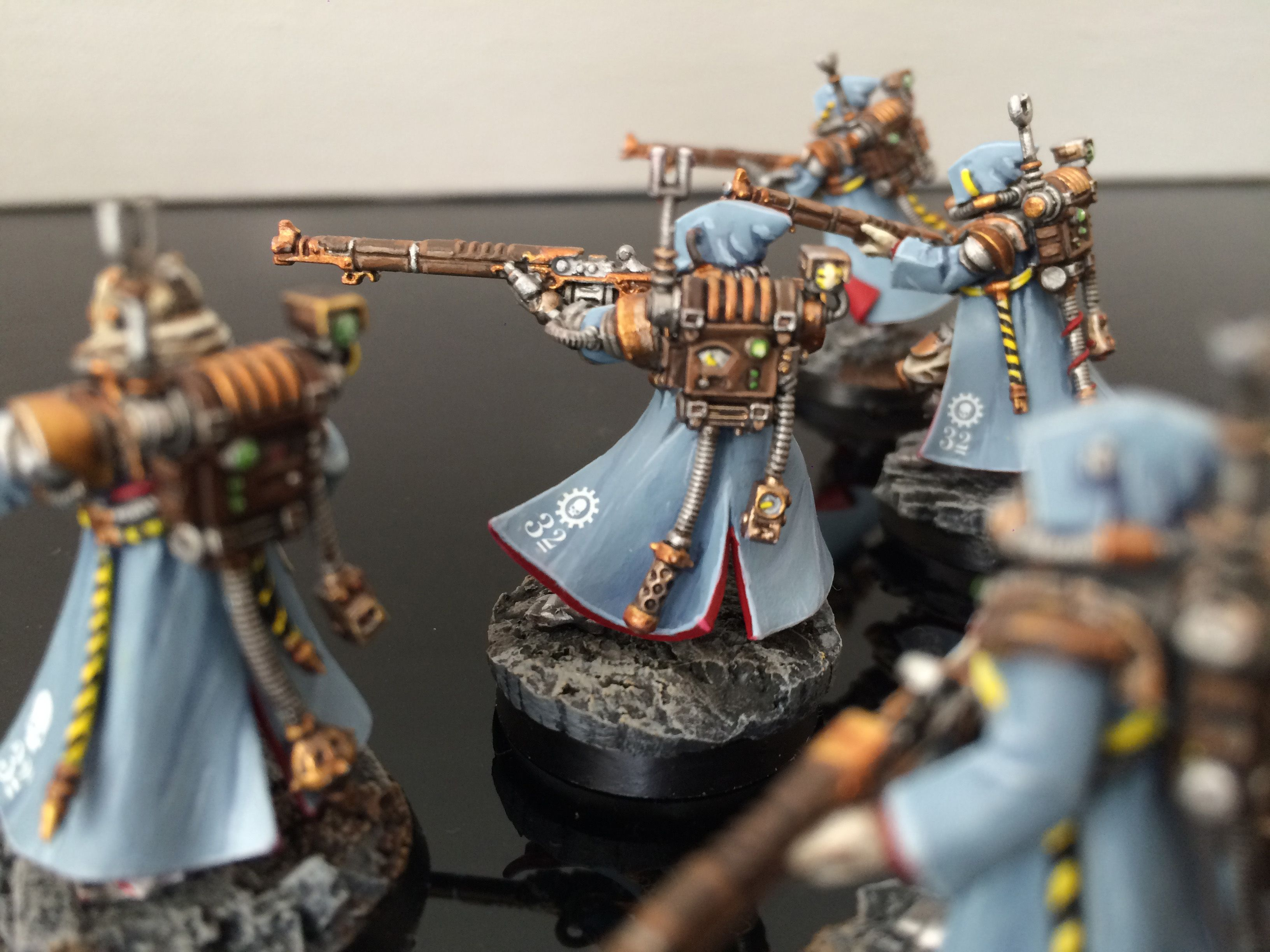 Warhammer схемы покраски