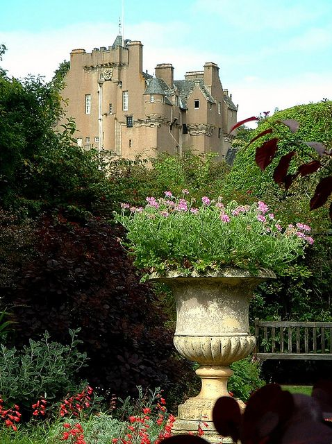 Crathes Castle, Deeside, Scotland