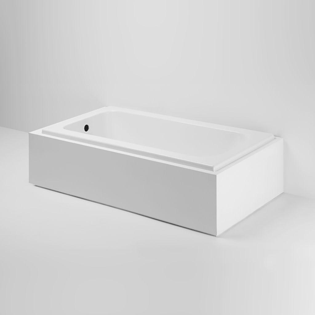 Minna 60 X 30 X 20 Rectangular Cast Iron Bathtub Bathroom