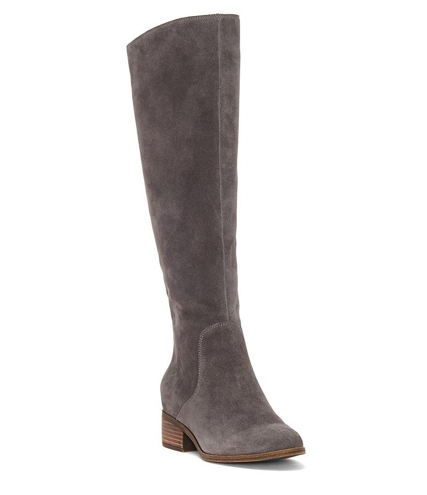 a158812f570 Shop for Lucky Brand Lanesha Suede Back Zip Tall Riding Boots at  Dillards.com.