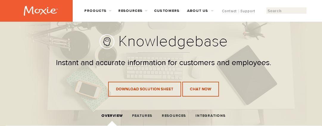 Moxie Knowledgebase Tool
