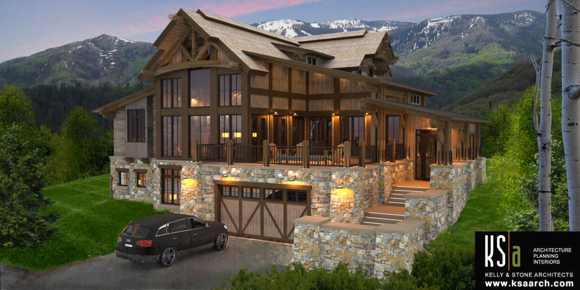 The castle rock floor plan by canadian timber frames ltd - Canadian home designs floor plans ...