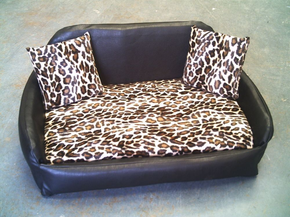 Raised Dog Beds For Large Dogs Uk Webnuggetz Com Leather Dog Sofa Raised Dog Beds Dog Bed